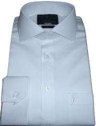 Camisa Branca Casamento e Formaturas Colarinho Italiano  Algodão Egípcio Fio 80