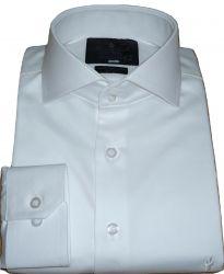 Camisa Branca Gola Italiana Casamento e Formatura Algodão Egípcio Fio 80