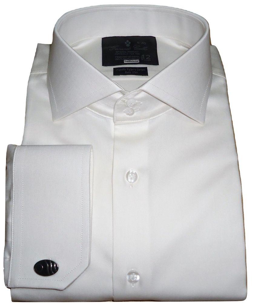 Camisa Abotoadura Branco Off White Lisa Sport Gola Italiana Fio 80 Egípcio