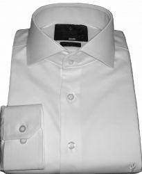 Camisa Branca Off White Colarinho Italiano Casamento e Formatura Algodão Egípcio Fio 80